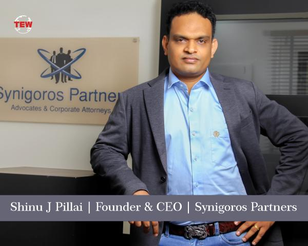 Shinu J Pillai- Synigoros Partners- Comprehensive legal services commensurate in quality and speed