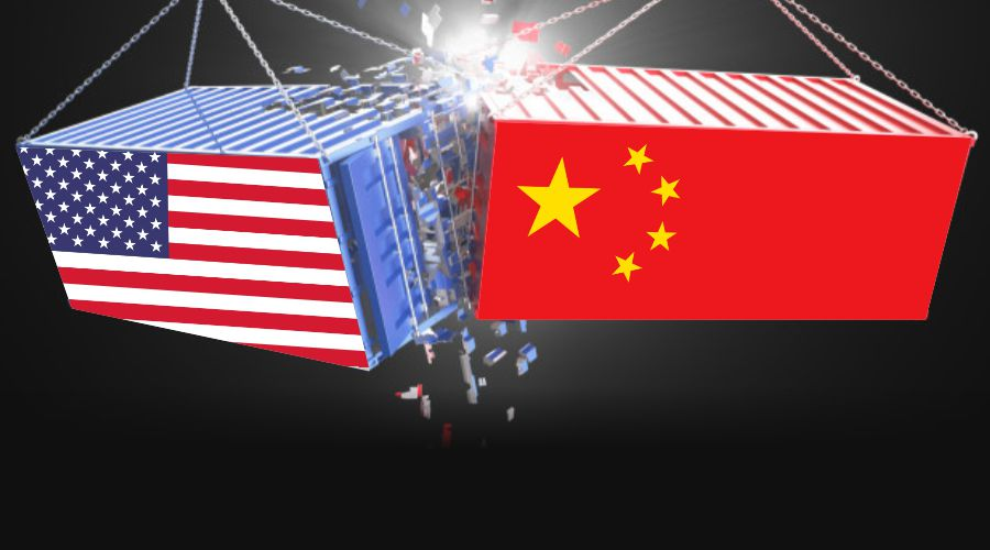 US-China trade war gets to the peak.
