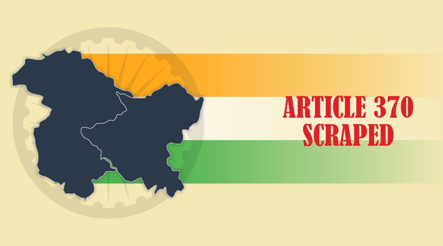 One Nation One Flag, India proved it with the removal of article 370 in Kashmir.