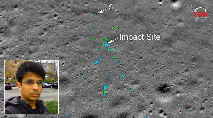 Indian Techie and Space Science Enthusiast Found Lost Vikram Lander on Moon.