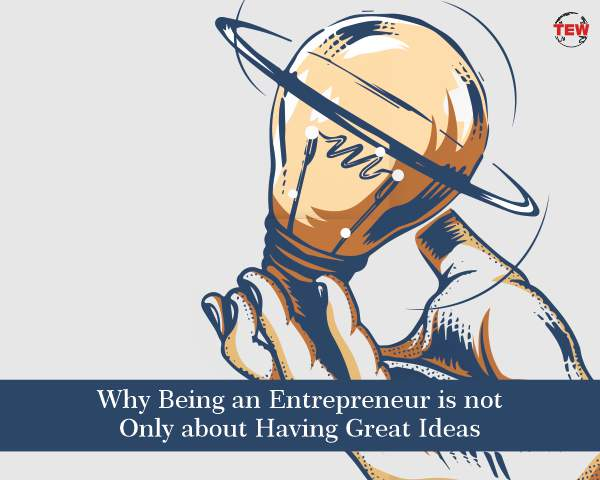 to be successful an entrepreneur must
