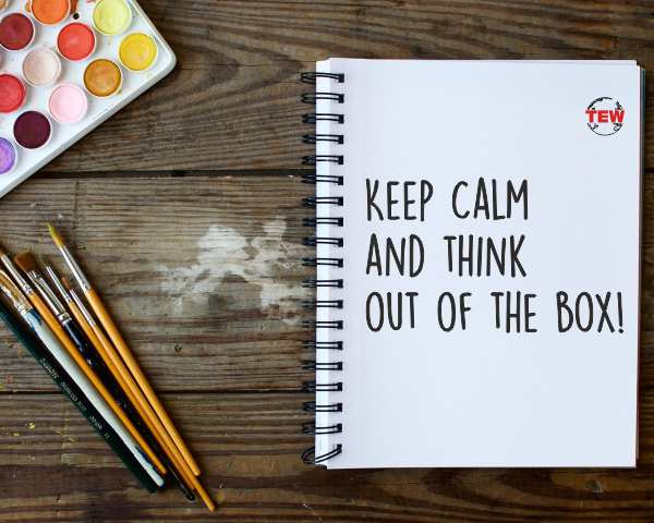 Keep calm and think out of the box-article