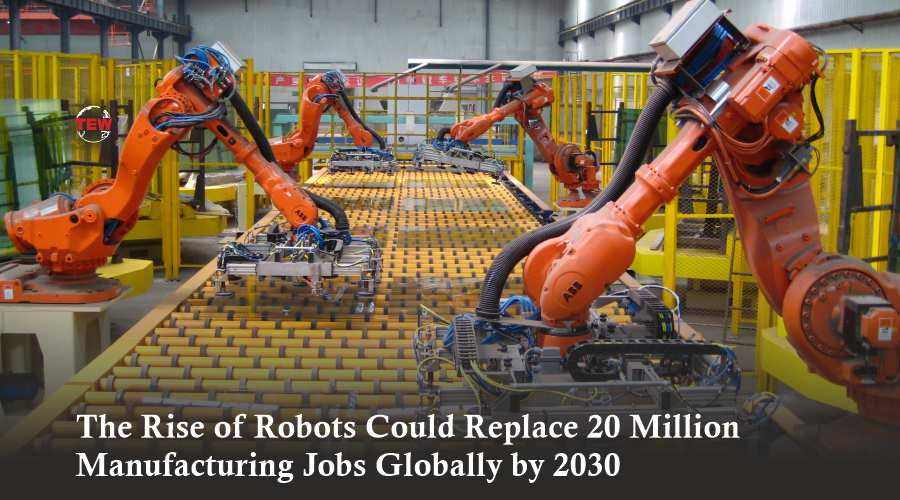 Robots will replace jobs