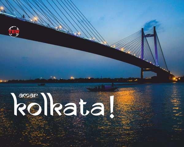 in Image Howrah Bridge in Kolkata, The Cultural capital of India