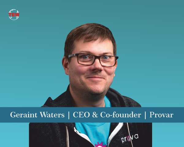 Geraint Waters CEO & Co-founder Provar