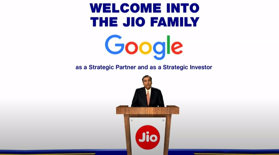 Mukesh Ambani At the 43rd AGM (Annual General Meeting) of Reliance Industries