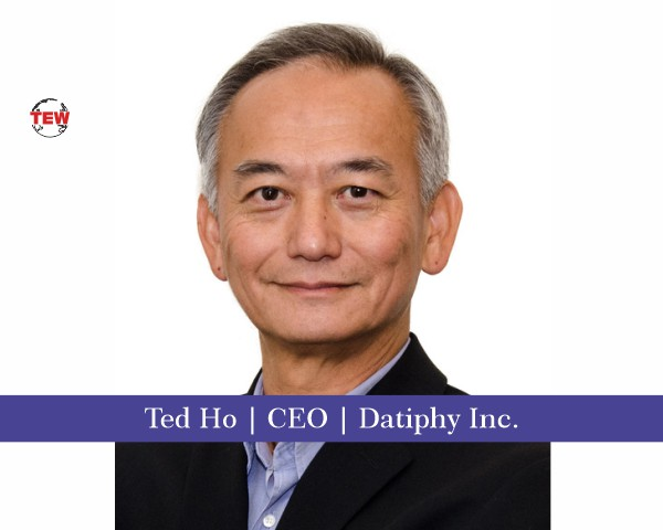 Ted Ho CEO Datiphy Inc.