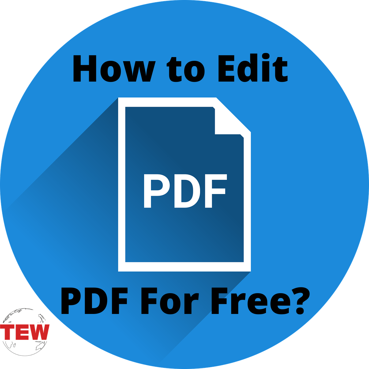 How to Edit PDF For Free