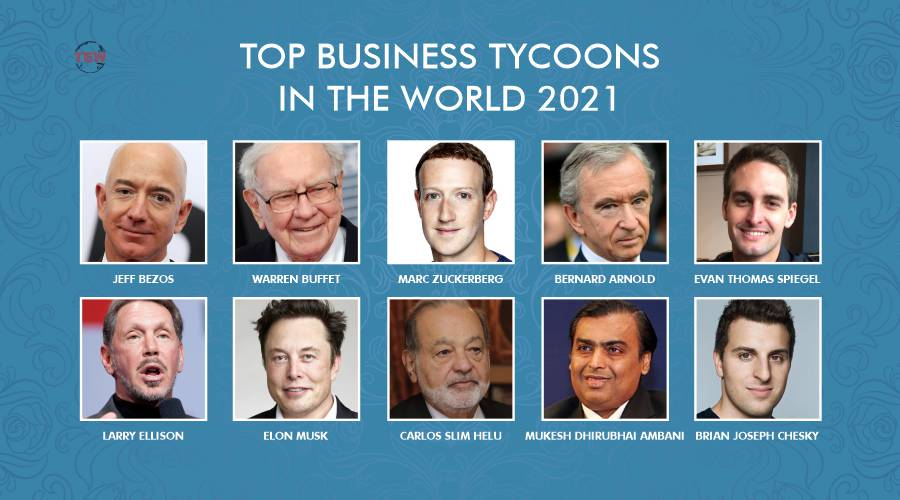 Top 10 Business Tycoons in the World