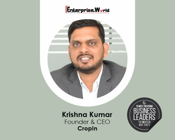 Read more about the article Krishna Kumar – A Leader Revolutionizing Agriculture Ecosystem through Cutting-Edge Technology