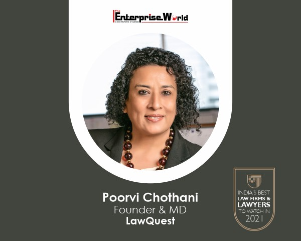 Read more about the article Poorvi Chothani – A Leading Name in the Field of Immigration Law