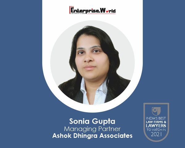 Read more about the article Sonia Gupta – A Passion for Justice, the Experience for the Win