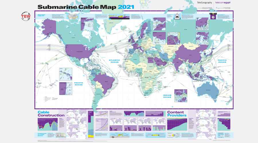 Read more about the article New Submarine Cable Map Visualizes More Than $8 Billion in New Cable Investments Over Next Three Years