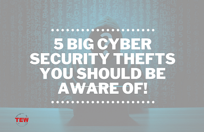 Read more about the article 5 Big Cyber Security Thefts You Should be Aware Of !