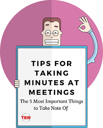 Read more about the article Tips for Taking Minutes at Meetings: The 3 Most Important Things to Take Note Of