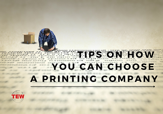 Read more about the article Tips on How You can Choose a Printing Company!