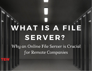 What is a File Server Why an Online File Server is Crucial for Remote Companies