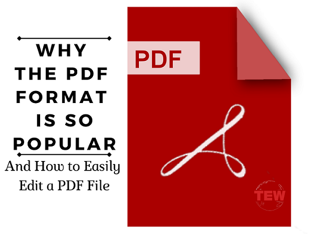 Read more about the article Why the PDF Format is So Popular? (And How to Easily Edit a PDF File)