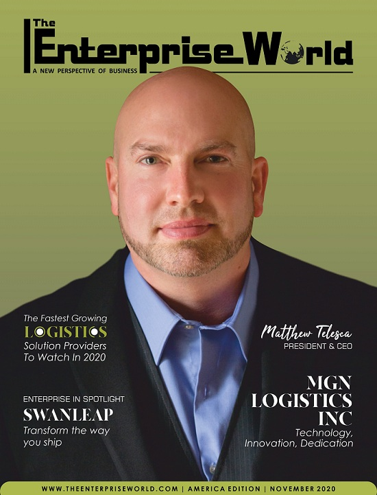 TheFastest Growing Logistics Solution Providers to watch in 2020- Cover Page- min