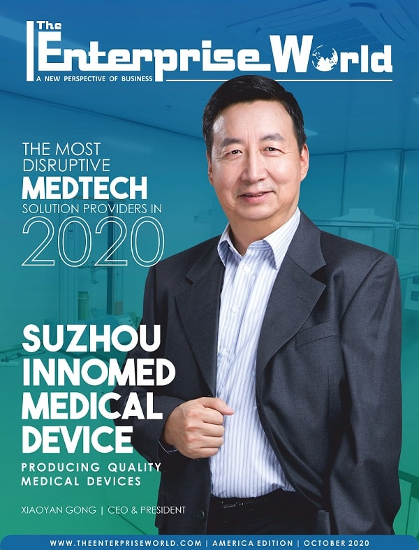 The Most Disruptive MedTech Solution Providers in 2020- Cover Page-min