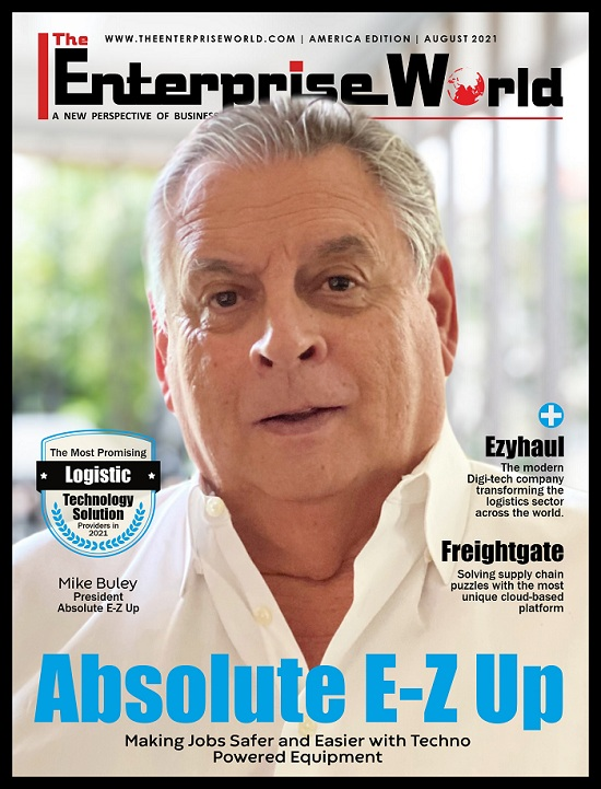 The Most Promising Logistic Technology Solution Providers in 2021- Cover Page