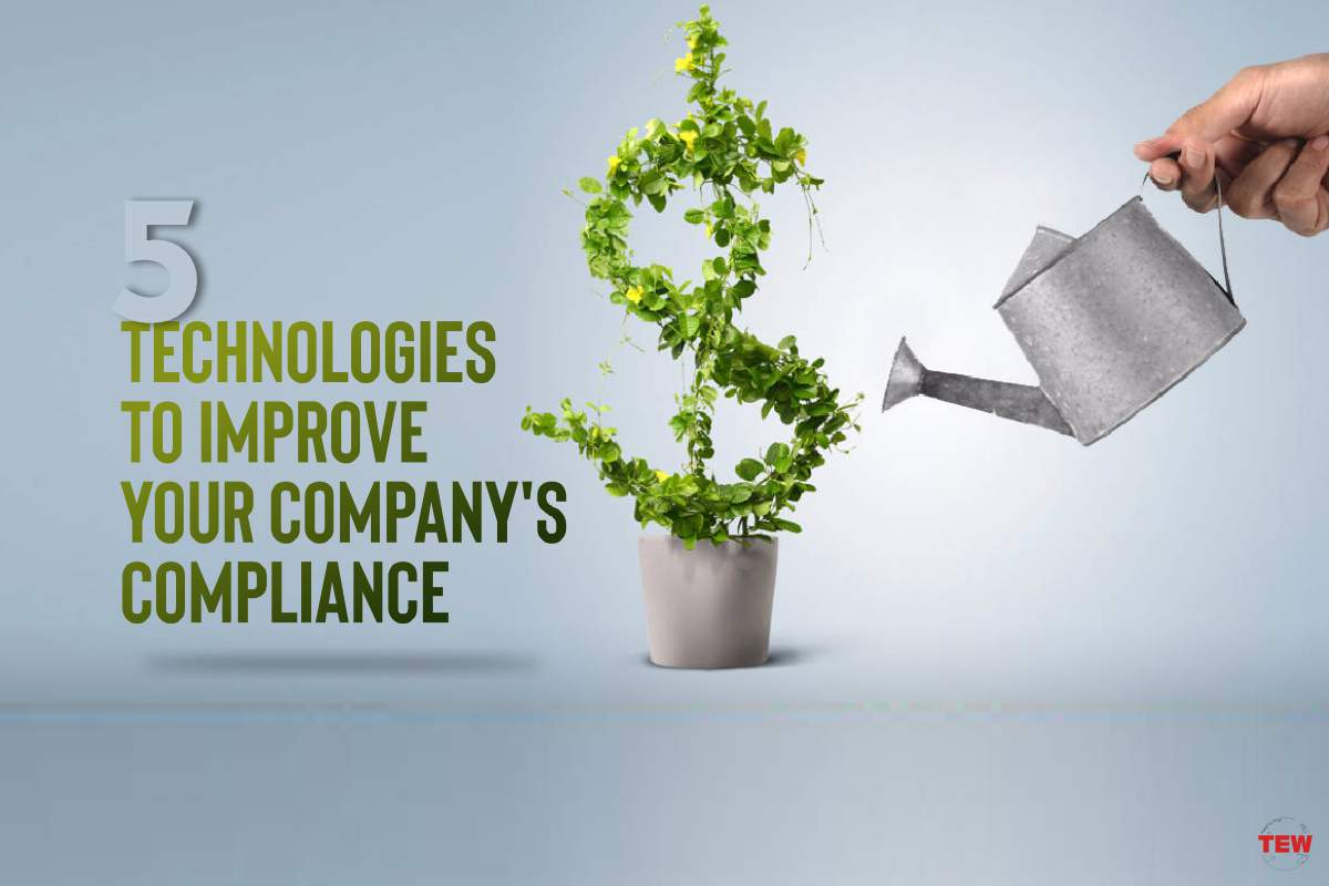 5 Technologies to Improve Your Company's Compliance