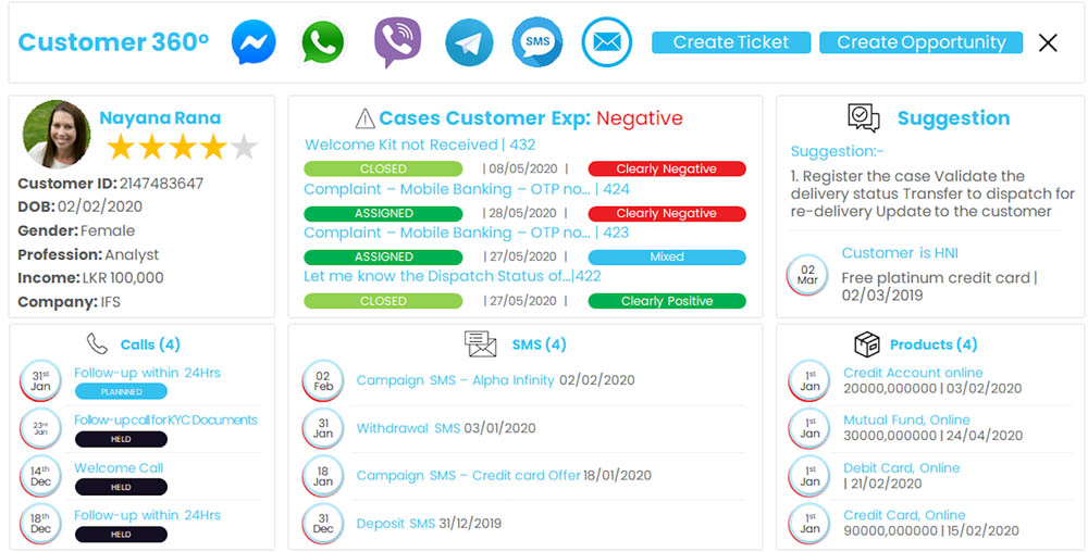 SimpleCRM Product Snapshot 1